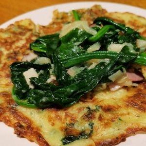 recette pancake epinard
